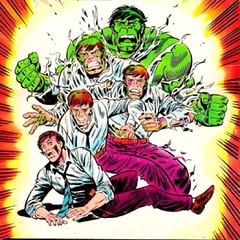 HULK OUT! By Herb Trimpe. #comicbooks