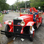 Historic Fire Truck, Norwood Fire Department, New Jersey