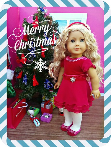 American Girl Holiday Card 2013