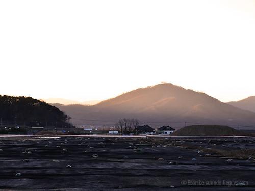 A las afueras de Gyeongju