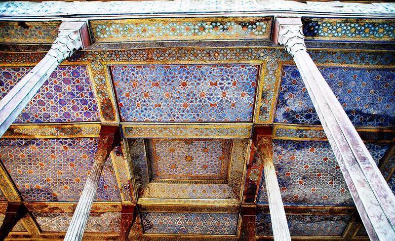 56 Palacio de Chehel Sotun o de las 40 columnas en Isfahan (1)