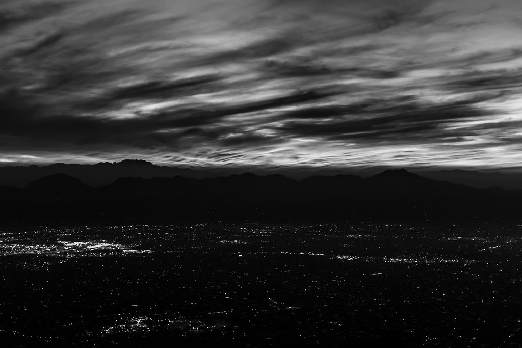 1401 Clouds and City at Last Light