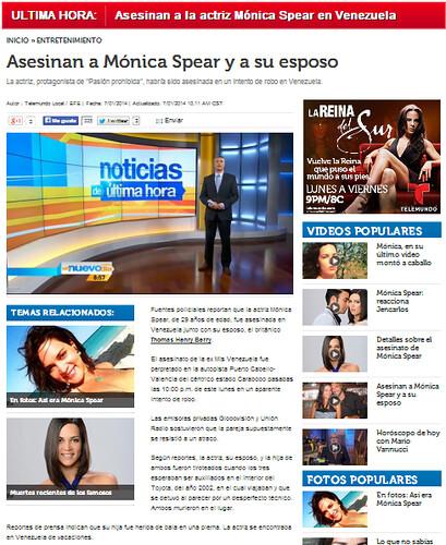Monica Spears Nuevo Dia