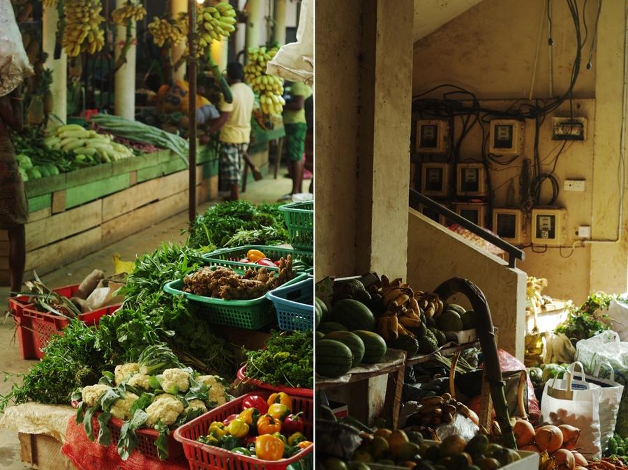 market in hikkaduwa