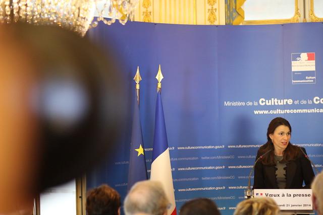 Aurélie Filippetti - Voeux 2014 Ministère de la Culture et de la Communication