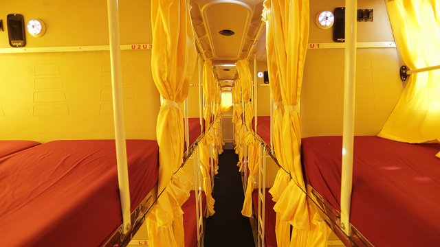 Vrl Sleeper Bus Inside View S R S Travels Sleeper Bus