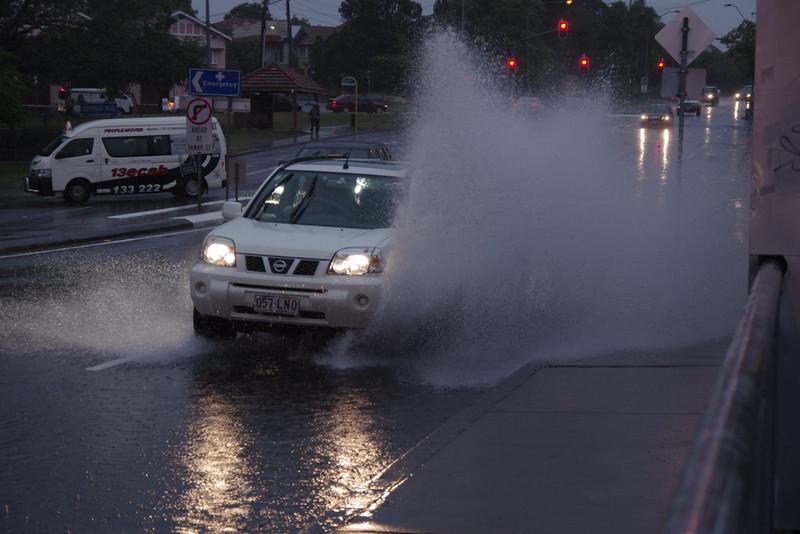 Rain in Brisbane