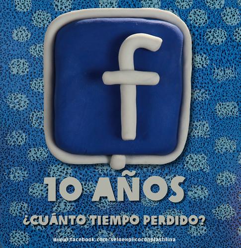 Facebook 10 años ¿Cuánto tiempo perdido? by alter eddie