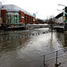 The Oracle, Reading - Flooding from the River Kennet - February 2014 by clivea2z