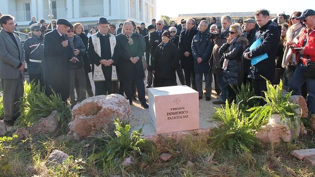 vitto posa prima pietra chiesa nuova padovano salvatore maria centrone