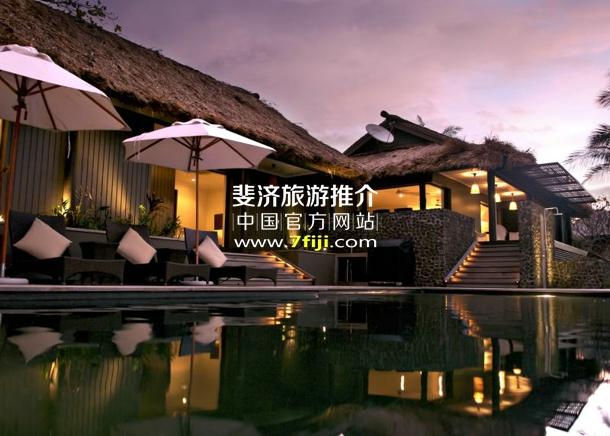 斐济沃莫岛度假酒店(Vomo Island Resort)皇家别墅
