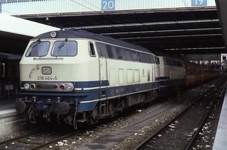 30.07.85  München Hbf  218.464