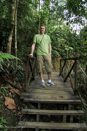 John at Poring Hot Springs Nature Reserve