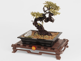 Plastic Bonsai Tree (Indoors)