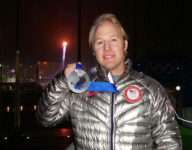Andrew Weibrecht silver medal Sochi