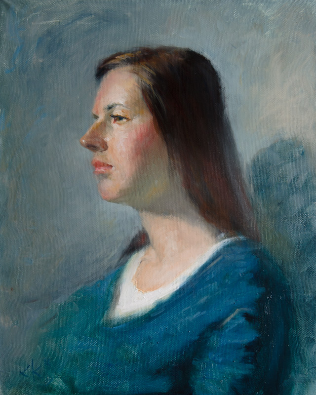 Portrait of Elena
