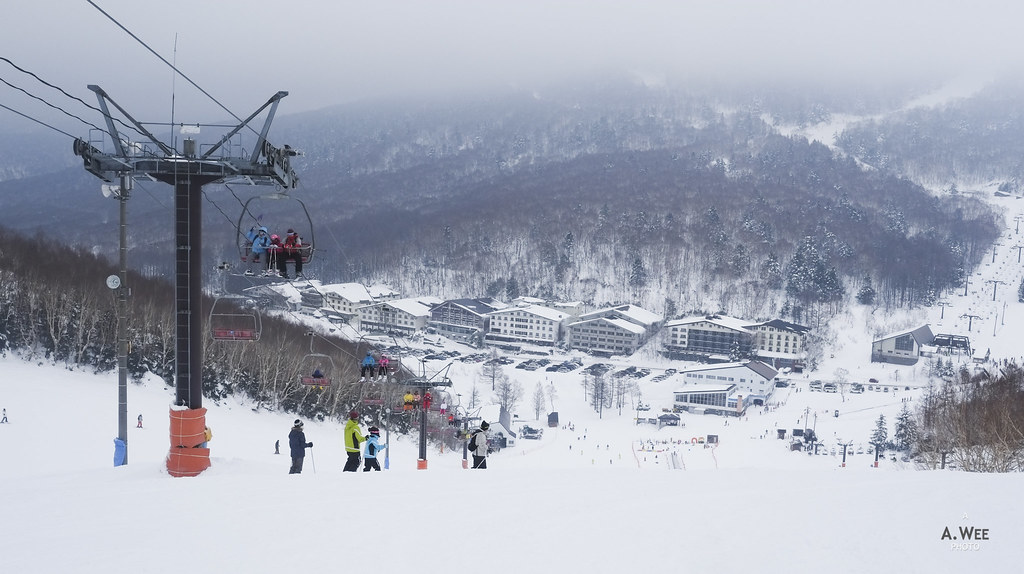 Chairlifts at Ichinose