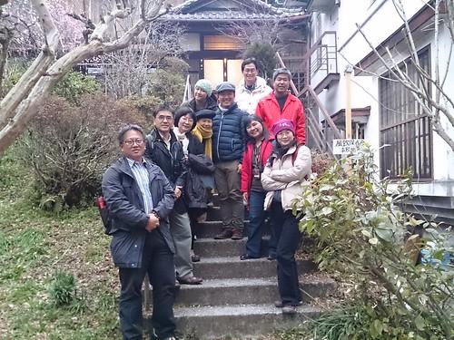 參訪團隊於鎌倉保存協會前合影。攝影:何宗勳。