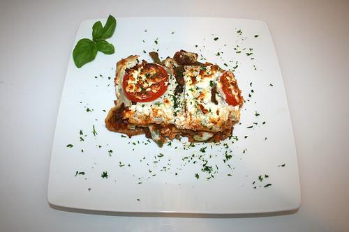 82 - Griechische Lasagne - Serviert / Greek Lasagna - Served