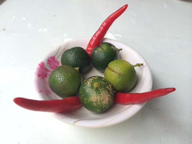 Calamansi and red chilies - Plato D'Boracay Resto