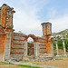 Macedonia, Philippi, remnants of the byzantine basilica
