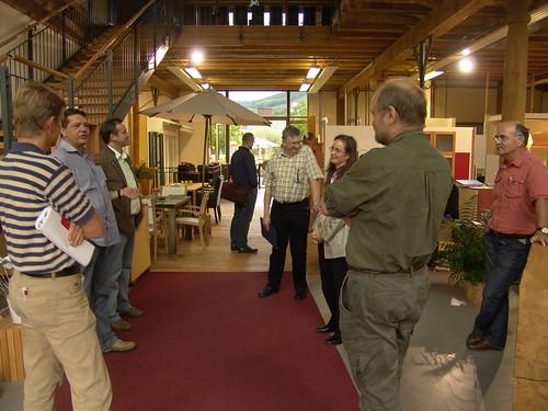 #holzvonhier-holzwirtschaft-bei einem Betriebe für Innenausbau