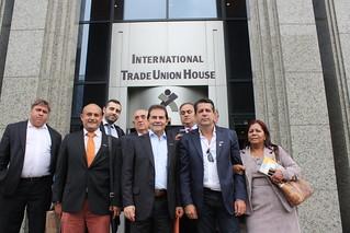 Solidariedade tem reunião na CSI, a Confederação Sindical Internacional, a maior do mundo