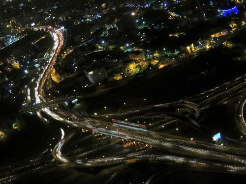 light urban skyline highway asia iran capital middleeast engineering junction expressway tehran kargar islamicrepublic westasia chamranexpressway hakimexpressway shahidhakim shahidchamran
