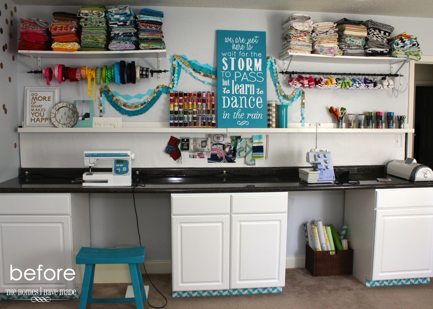 Storage For Craft Room: Another Craft Organization Post