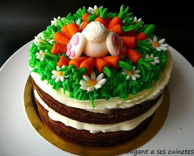 Carrot Bunny Cake 1