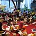 19-2-2017 Selain fun walk acara juga dimeriahkan dgn lomba gambar anak (tf)