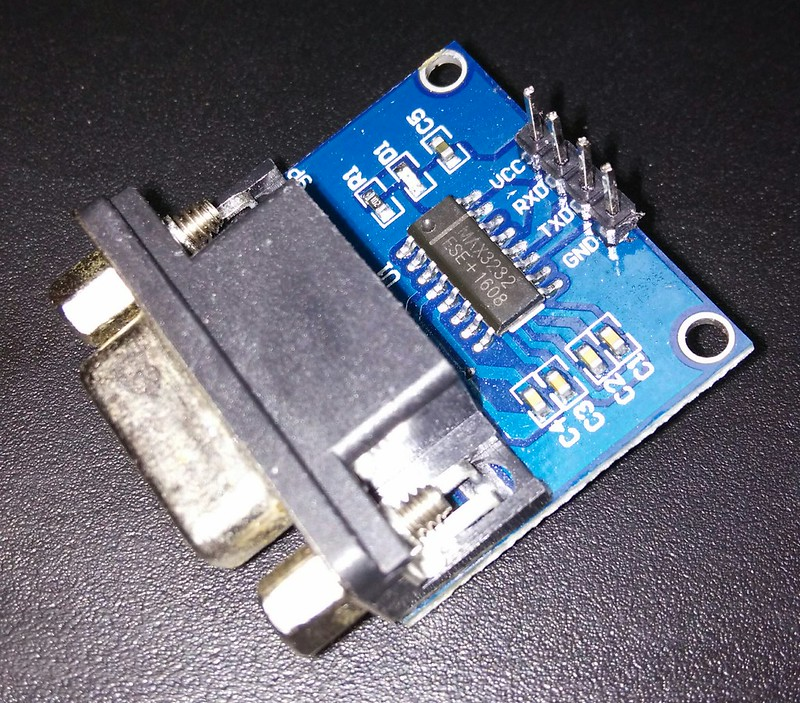 MAX3232 Module Font side