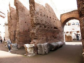 Image of Colosseum near Roma Capitale. trip20170208 rzym roma muzeumwatykańskie colosseum geo:lon=12491631 geo:lat=41890169