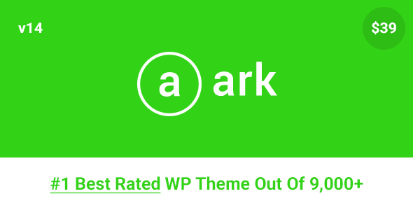 The Ark v1.14.0 - Next Generation WordPress Theme