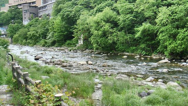 Toyohira River, Jozankei Onsen, Hokkaido