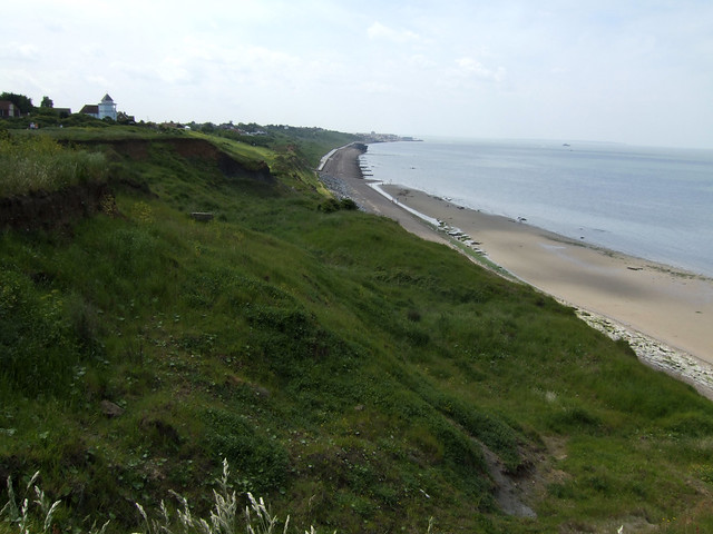 The coast east of Herne Bay