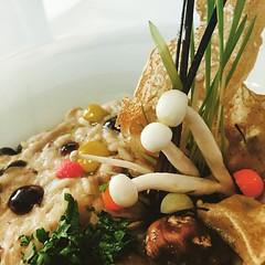 Garden mushroom Rice
