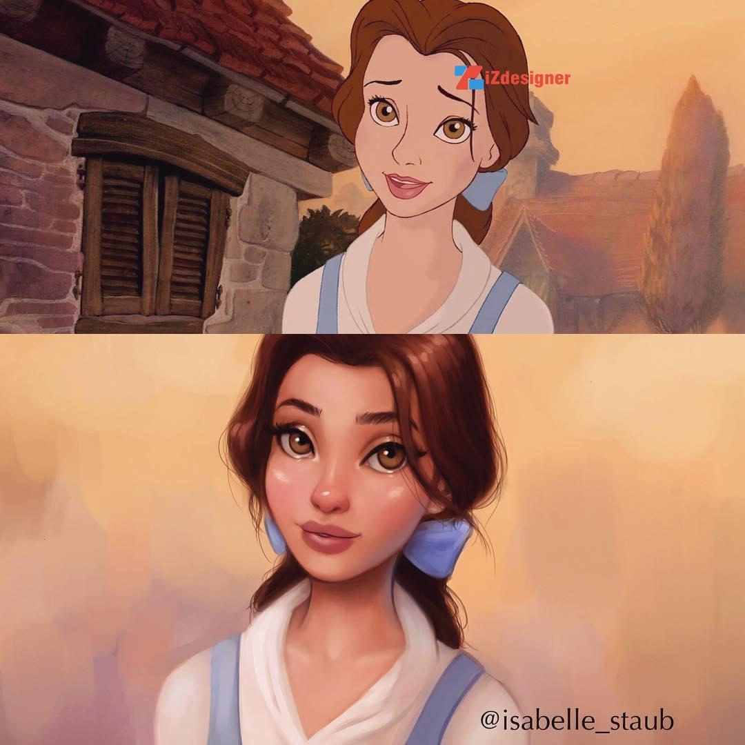 Công chúa disney phiên bản mới
