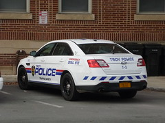 Troy (NY) Police Department Ford Taurus Police Interceptor