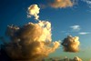 Clouds at Sunset by Heaven`s Gate (John)