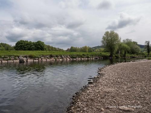 River Usk Abergavenny 2017 04 27 #1 (Gareth Lovering Photography 3,000,594 views.)