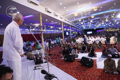 Vice-President, SNM, Dev Raj Bajaj from Bengaluru