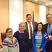 Rep. Fred Wilms hosted a Narcan Training Session with Rep. Tom O'Dea in New Canaan on April 18, 2017. Picture with Wilms are Selectman Beth Jones, Director of Communities 4 Action, Ingrid Gillespie, and Director of Community Relations at Silver Hill Hospital, Ellen Brezovsky.