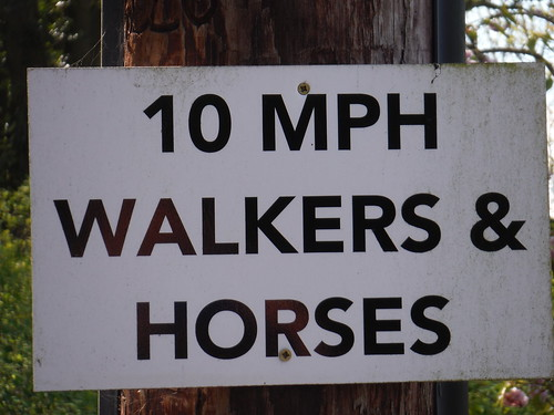 Sign on Lane up to Pulpit Hill