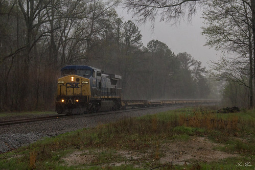 CSX X831 at Ranger, Oakman Georgia