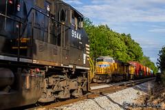 NS 9944 | GE C44-9W | NS Memphis District