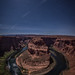 Moonlight Shadows at the Bend by Vaidas M