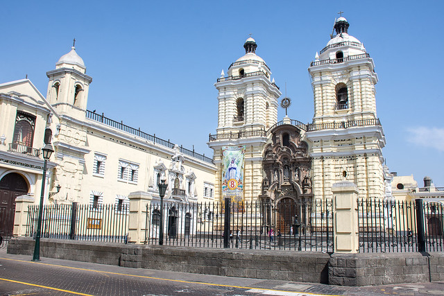 Monastery of San Francisco in Lima