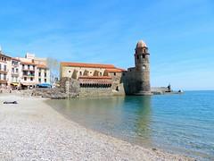 France, Collioure à Cerbère