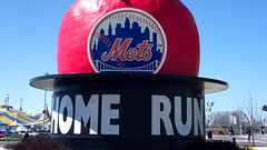 New York Mets Vintage Home Run Apple; Willets Point, New York